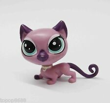 Littlest Pet Shop LPS PURPLE CAT Collection Child Boy Girl Figure DS3