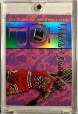 MICHAEL JORDAN 1995 HOOPS TOP 10 ALL TIME ROOKIE TEAM #AR7, Rare Insert! HOF!