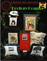 Ecology Counts Cross Stitch | Cross My Heart CSB-61