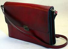 Sattlerqualität bolsa de piel nuevo bandolera óptica estable clutch alta calidad #