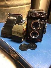 Vintage Yashica Mat-124G Medium Format TLR Film Camera W/ Case