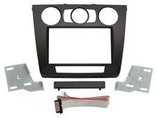 2-DIN Radioblende BMW 1er, manuelle Klimaanlage, schwarz