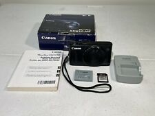 CANON SX610 Digital Camera Black With Charger in original box. Works Good.