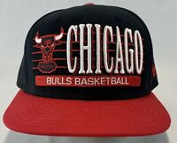 Chicago Bulls Snapback Hat New Era Hardwood Fits Authentic NBA Basketball