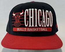 Chicago Bulls New Era Fits Hardwood Classics Snapback Hat Red Black NBA