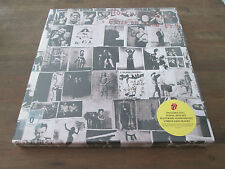 VINYLE CD DVD BOX SET THE ROLLING STONES-exil on Main St. * UNIVERSAL * 2010