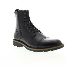 Unlisted by Kenneth Cole Design 30305 Mens Black Leather Casual Dress Boots 11.5