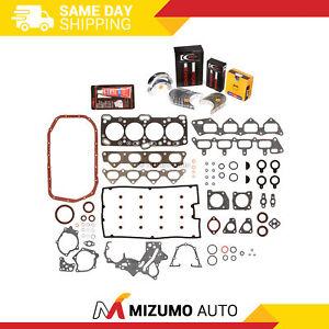 Full Gasket Set Bearings Rings Fit 95-05/97 Mitsubishi Eagle Turbo 3rd Gen 4G63T