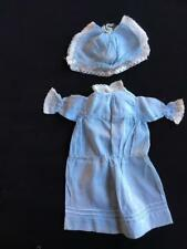 ANTIQUE DOLLS DRESS and HAT