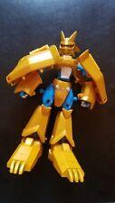 DIGIMON Bandai Magnamon to Digi Egg of Miracles Gold Armor Digivolving Figure