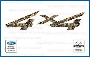 1997 <-> 2010 Ford Super Duty 4x4 Realtree Decals Stickers Max4 HD F250 F350 450