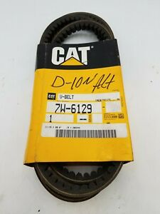 "Caterpillar CAT 7W-6129 Cogged V-Belt 11/16""x80"" OEM Stock Replacement 7W6129"