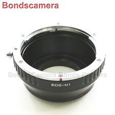 Canon EOS EF-S Lens per Nikon 1 Mount J2 V2 intercambiabili fotocamera Adattatore