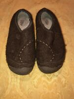 KEEN Womens Brown Slip On Loafer Slides Mules Shoe 7.5