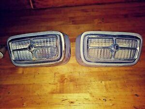 Ford Grille Fog Driving Lights, fits Maverick Comet Mustang ? 302 351 428 429