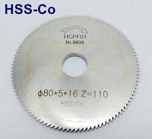 1x Schlüssel Fräser für Schlüsselfräsmaschine Schlüsseldienst 80x5x16mm HSS Co