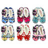 Ladies Knitted Slippers Socks Sherpa Lining Sizes 4-6 & 6-8 UK NEW 1 pair