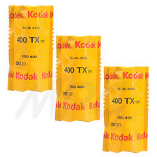 3 Rolls Kodak Pro Tri-X 400 Black & White 120 Negative Print Film 400TX FRESH