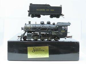 HO Scale Bachmann Spectrum 11412 B&O Baltimore Ohio 2-8-0 Steam Locomotive #2784