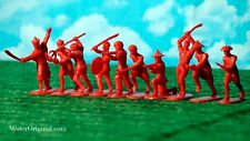 Armies in Plastic Boxer Rebellion China 1900 Chinese Boxers 54mm 1/32 Scale red