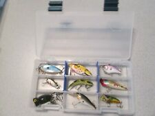 New listing Set of 9 Ultra Lite lures in Plano box