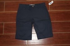 New Old Navy Girls Bermuda Shorts Size 14 School Uniform Navy Blue Pockets Teen
