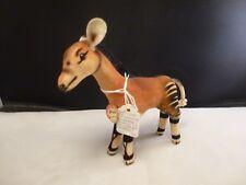 """Steiff Okapi Antelope Velvet and Mohair Plush 5""""  1958  Vintage CHEST TAG GUMPS"""
