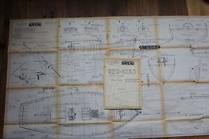 """Schiffsmodellbauplan """"Red Atao"""" 1:20 von Modele Reduit Bateau"""