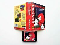 Knuckles Echidna in Sonic the Hedgehog - Case / Game - Sega Genesis USA Seller