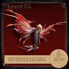 » Rotes Drachenfalkenjunges   Red Dragonhawk Hatchling   Pet   Haustier L25 «