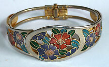 Gold Plated Bangle Vintage Costume Jewellery (1980s)