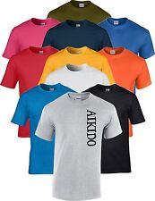 Gratis Personalisiert Name Aikido Kampfsport T-Shirt