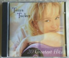 20 Greatest Hits by Tanya Tucker CD, Sep-2000, 2 Discs, Capitol records