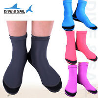 Neoprene 1.5mm Socks Snorkeling Boots Water Sports Swimming Scuba Diving Surfing