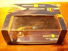 1/43 RENAULT TESTCAR R23 ENGINE RS23 FRANCK MONTAGNY 2004
