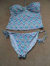 Bnwot new TU  ladies 2-piece colorful tankini swimwear size 20