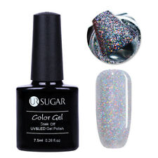 7.5ml Glitter UV Gel Nail Polish Soak Off Sequin Manicure Varnish UR Sugar UR-02