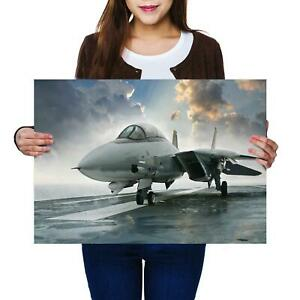 A2 | Military Fighter F-14 Tomcat Jet Size A2 Poster Print Photo Art Gift #14188