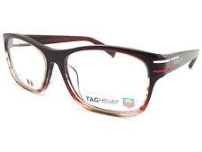 Vidrios Ópticos Tag Heuer phantomatik Con Montura Rx Frame Burdeos TH0534 004