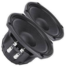 "Pair Faital Pro M5N8-80 12ohm Neodymium 5"" High SPL Midrange Line Array Speaker"