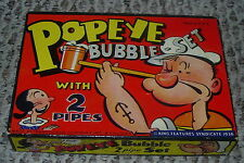 TRANSOGRAM  POPEYE  BUBBLE PIPE SET  1936  #3133  USA  KING FEATURES