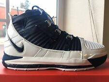 05c81f65704ff Nike Zoom Lebron 3 III QS Midnight Navy Basketball AO2434-103 Men s Size 10