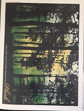 Phish poster print Micah Smith Great Woods Mansfield, Ma