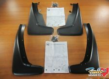 2011-2020 Dodge Durango Black Front And Rear Splash Guards With New Mopar OEM
