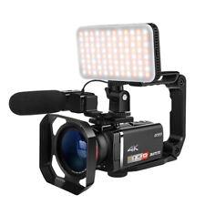 4K ORDRO Vlog Videokamera 100X Digital Zoom Camcorder Rekorder Mit Kontrolleur