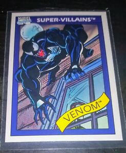 1990 Impel - Marvel Superheroes - Super-Villains - Venom #73 - Many Available