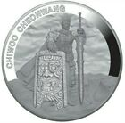 2019 1 Oz PROOF Silver 1 Clay CHIWOO CHEONWANG TWELVE GUARDIANS Medal.