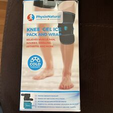 New PhysioNatural Knee Gel Ice Pack and Wrap