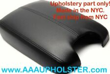 PVC Leather Black Console Lid Center Box Armrest Cover for Accord Honda 2008-12