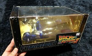 Back to the Future FUTURE CAR Blade Runner POLICE SPINNER BLUE CLEAR VER,